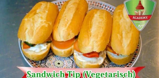 Vegetarische sandwich